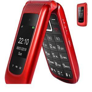 Generic Three Screen Flip Phone