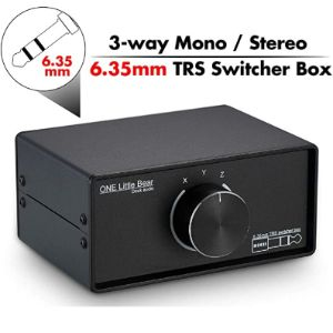 Visit The Nobsound Store Stereo Audio Switch Box