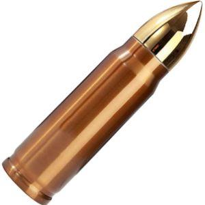 Fleurapance Stainless Steel Bullet Flask