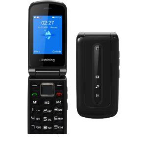 Ushining Dual Sim Flip Mobile Phone