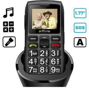 Artfone Emergency Button Mobile Phone