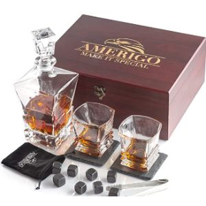 Amerigo Glass Whiskey Stone