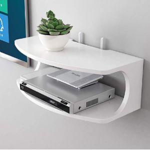 Zyfa Electronics Corner Shelf