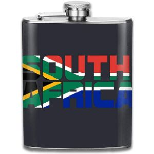 Wlyfk South Africa Stainless Steel Hip Flask