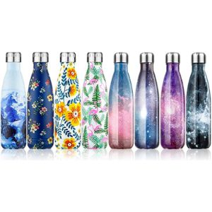 Fancytimes Holder Pattern Insulated Water Bottle