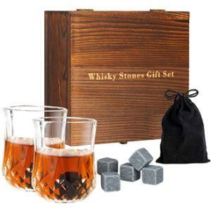 Tuevob Glass Whiskey Stone
