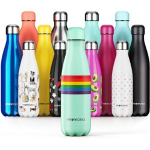 Proworks Rainbow Drink Bottle