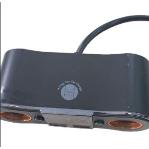 Car Adapter Cigarette Lighter Double Plug