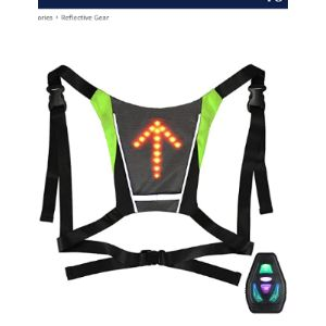 Xuyiey Reflective Safety Vest Cycling