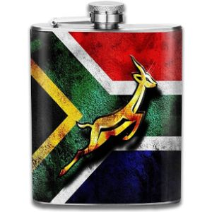 N/A South Africa Stainless Steel Hip Flask