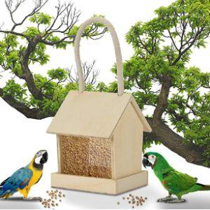So-Buts Pet Toys Squirrel Proof Window Bird Feeder