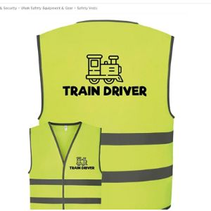 Corporate Togs Girl Safety Vest