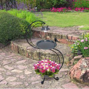 Gardenkraft Solar Light Bird Bath