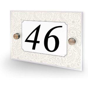 Premium Home Plaques Vintage House Number