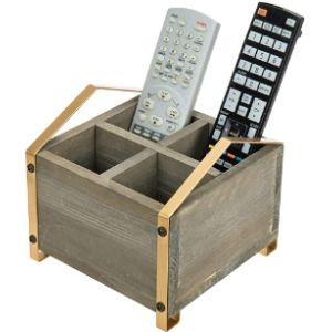 Mygift Decorative Remote Control Holder