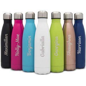 Visit The Hoolaroo Store Custom Stainless Steel Water Bottle
