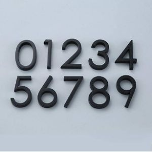 House Number Sticker