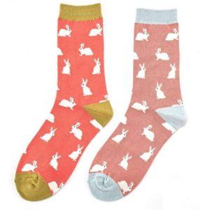Lilyrosa Rabbit Sock