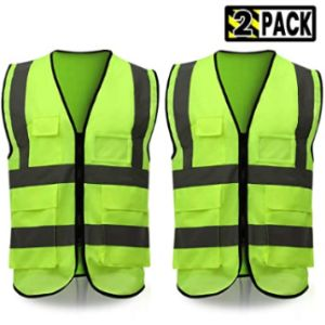 Eluto High Visibility Reflective Safety Vest