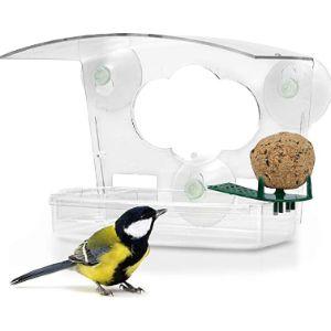 Wildlife Friend Acrylic Window Bird Feeder