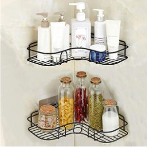 Berhaya Stainless Steel Corner Shelf Kitchen