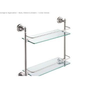 Wsy Corner Mirror Shelf