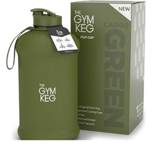 The Gym Keg Plastic Insulated Water Bottle