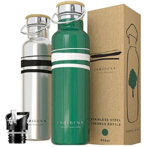 Indigena - Protect Your Planet Stainless Steel Water Bottle Straw