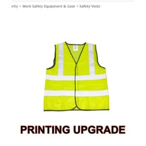 The World Of Wall Art Printing High Visibility Vests