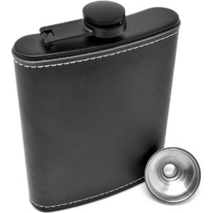 Visit The Idalio Store 8 Oz Leather Hip Flask