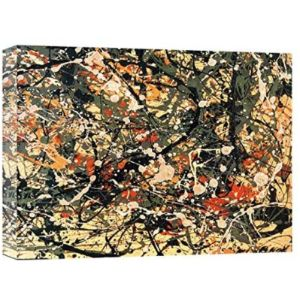 Artdreamcanvasprint Jackson Pollock Number 8