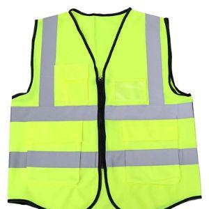 Besportble Zipper Front Safety Vest