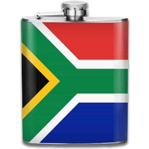 Na South Africa Stainless Steel Hip Flask