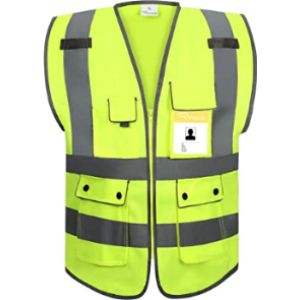 Ryaco Class 2 High Visibility Vest