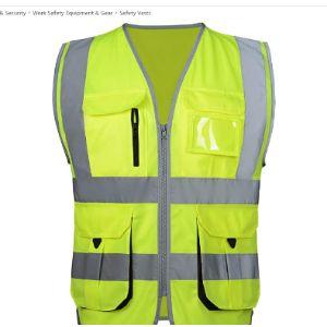 Feoya Traffic Control Safety Vest