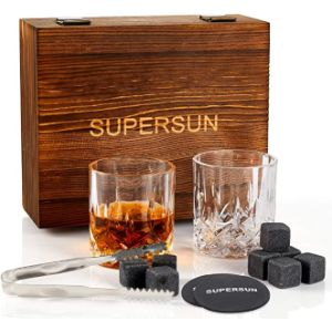 Supersun Glass Whiskey Stone