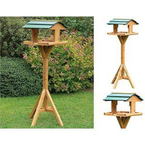 Ossian Wood Bird Feeding Station