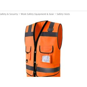 Domilay Screen Printing Safety Vest