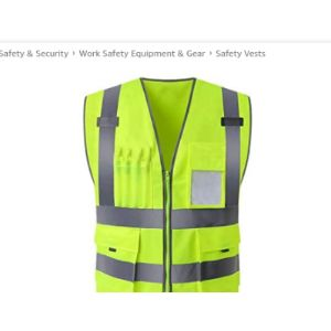 Xigeapg Screen Printing Safety Vest