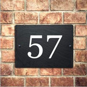 Edsg House Number Post