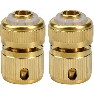Netspower Quick Connect Brass Garden Hose