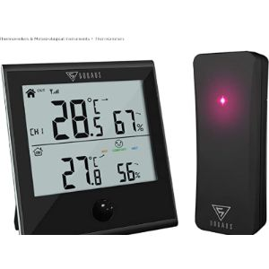 Doqaus Outdoor Thermometer Humidity Gauge