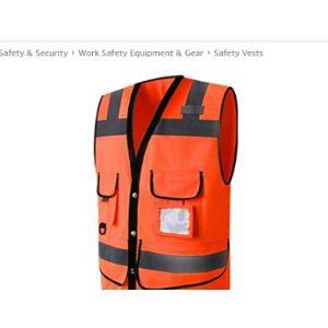 Starry Sky Screen Printing Safety Vest