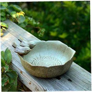 Amoyer Ceramic Bird Feeder