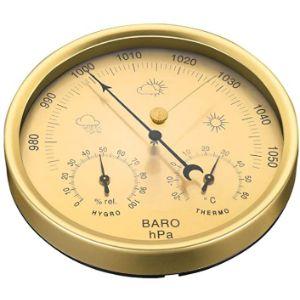 Yardwe Outdoor Thermometer Hygrometer Barometer