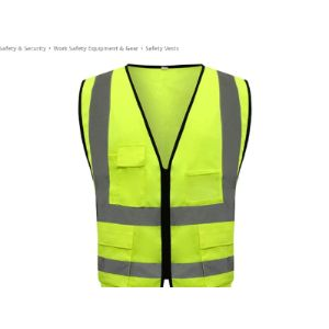 Xxhdee Cotton High Visibility Vest