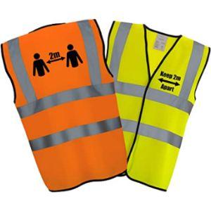 Hi Vis Heroes Limited High Visibility Reflective Vest