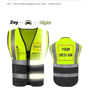 Yoweshop High Visibility Tool Vest