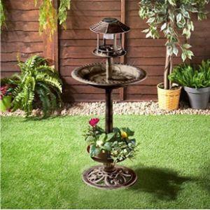 Mmj Planter Bird Bath