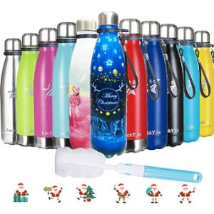 Lucky.Ss Cage Stainless Steel Water Bottle